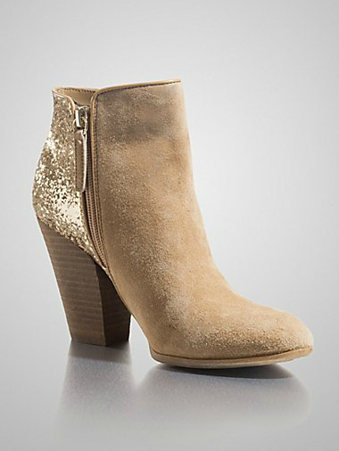Guess Cardio Suede Booties $169 CDN